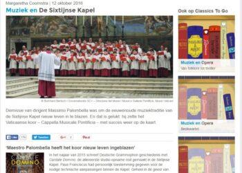 Palestrina en de Sixtijnse Kapel